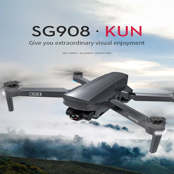 2021 NEWest SG908 Three-Axis Gimbal Drone With 4K Professional Camera 5G GPS WIFI FPV Dron Brushless Motor RC Quadcopter PKSG907 4
