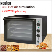 XEOLEO Convection Oven Electric baking oven Commercial Bread oven Vertical Bakery equipment with Spray function Double Fan 4500W