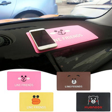 Car Anti-Slip Mat Decorative Dashboard Non-Slip Sticky For GPS Mobile Phone Sunglasses PVC Foam Non-slip Pad Auto Accessorie