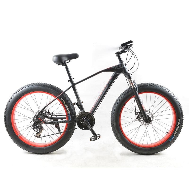 GORTAT New Bicycle Mountain Bike 26 * 4.0 Fat Bike 24 Speeds Fat Tire Snow Bicycles Man Bmx Mtb Road Bikes Free Shipping