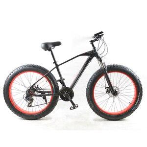 Gortablet novo bicicleta gorda masculina, bicicleta de montanha 26*4.0, pneu largo de 24 velocidades, bmx, mtb, estrada bicicletas frete grátis,