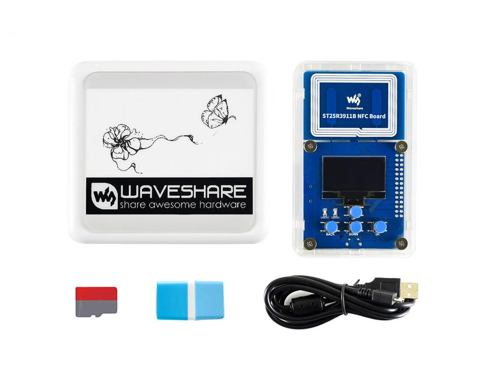 Waveshare 4.2inch NFC-Powered E-Paper Evaluation Kit, Wireless Powering & Data Transfer