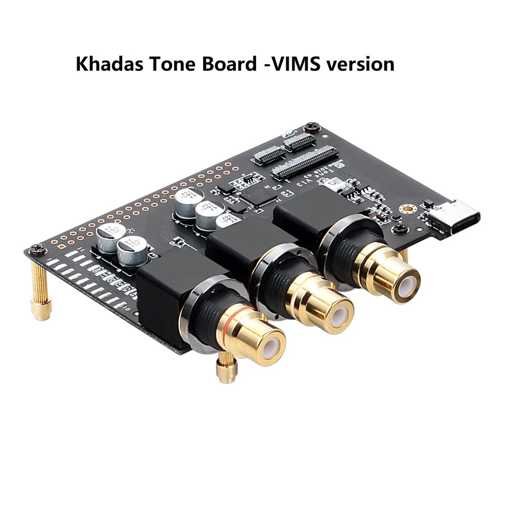 Khadas Tone Board ES9038Q2M USB DAC Hi-Res Audio Development Board High Performance DAC