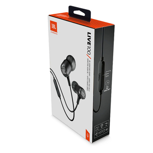 Image 5 - JBL חי 100 ב אוזן קווית אוזניות סטריאו 3.5mm Wired אוזניות ספורט אוזניות עמוק בס מוסיקה צליל עם מיקרופון