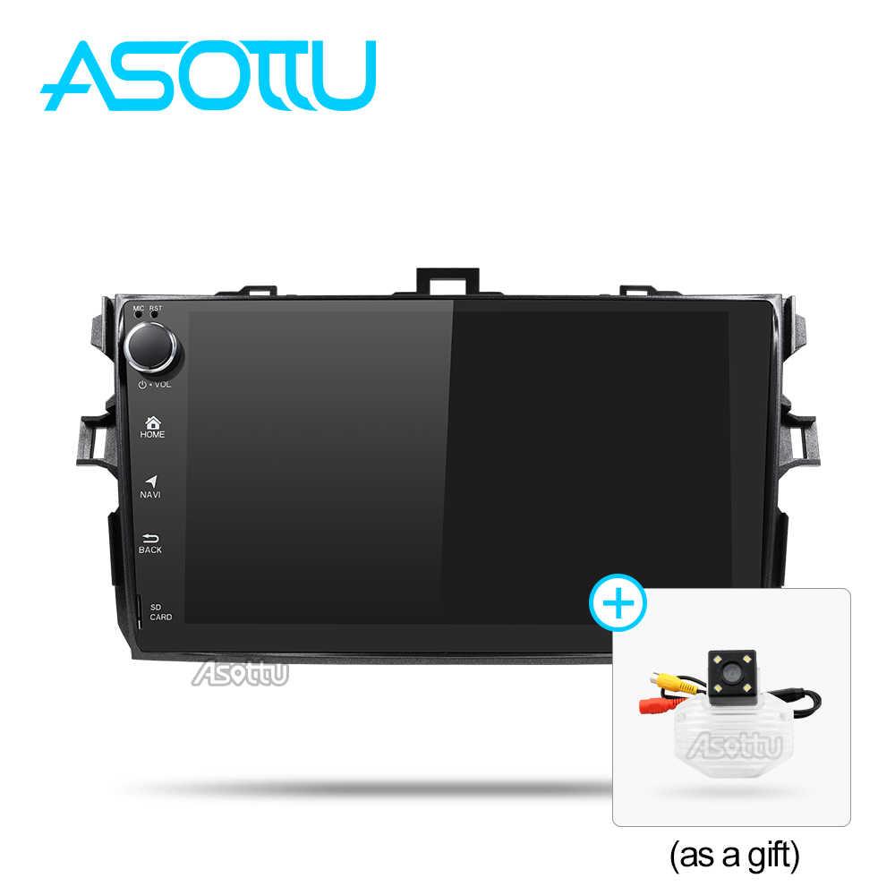 Asottu clkll9060 Android 8.1 t8 автомобиля консоль автомобильное радио для Toyota Corolla 2007 2008 2009 2010 2011 Автомобильный DVD GPS-навигации