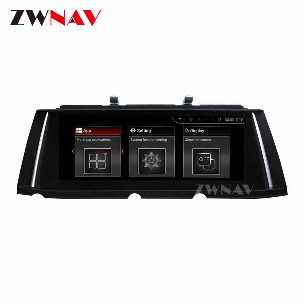 4G + 64G Android 9.0 samochodowy odtwarzacz multimedialny nawigacja gps dla BMW 7er F01 F02 F03 F04 2008-2012 samochodów radio samochodowe radioodtwarzacz stereo darmowa mapa