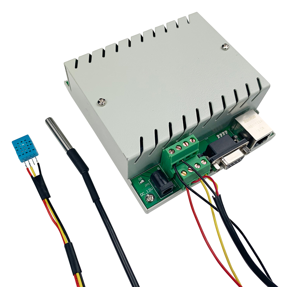 Temperature Humidity Sensor Automation Module Controller Ethernet RS232 Transmitter PC/APP Have Protocol For Development Program