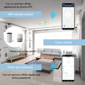 Image 2 - Hause Smart 18mm 1P WiFi Remote APP Control Circuit Breaker Timing Schalter Treppe Timer Din schiene Universal 110V 220V AC Eingang