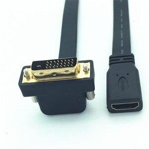 Image 3 - Кабель с прямым углом к HDMI Female, 90 градусов, 24 + 1 штекера, 0,3 м