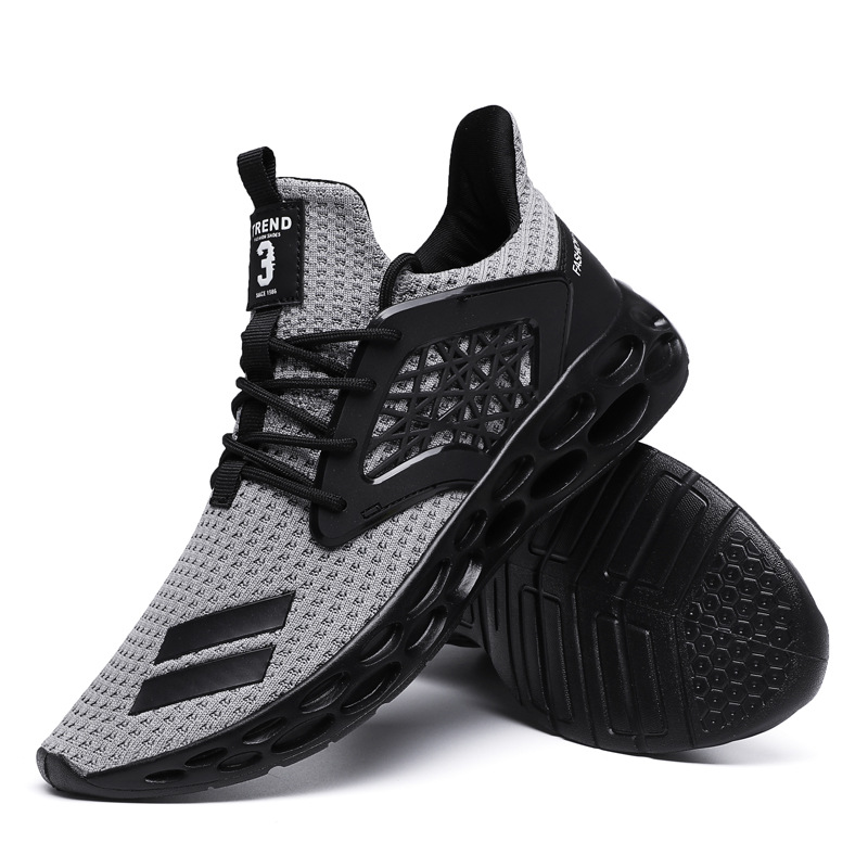 Hot Sale New Men's Sneakers 2020 Popular Summer Lightweight Breathable Casual Shoes Student Fashion Wild Flying Weaving Running Sneakers