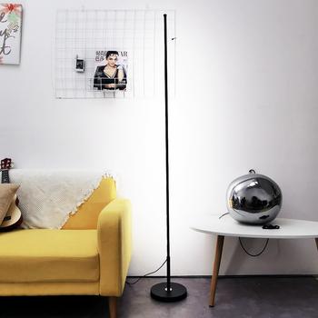 Nordic minimalistyczny LED lampy podłogowe lampy stojące salon Led czarny biały aluminium Luminaria lampy stojące Lamparas dekoracji tanie i dobre opinie fengshui 90-260 v Nowoczesne Żarówki led Shadeless Pilot zdalnego sterowania 0802 W górę Foyer Galwanicznie Dimming