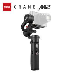 ZHIYUN официальный кран M2 Gimbals для смартфонов беззеркальные экшн компактные камеры Новое поступление 500 г Ручной Стабилизатор в наличии