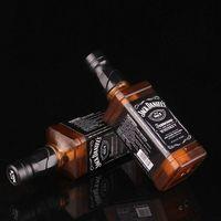 Новинка Зажигалка Jack-danel Wiskey бутылка ветрозащитная и многоразовая Бутановая Зажигалка для студийного фона 1