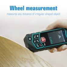 Mileseey medidor de distância a laser r2 laser rangefinder laser fita faixa localizador régua diastímetro curva dimensão medição