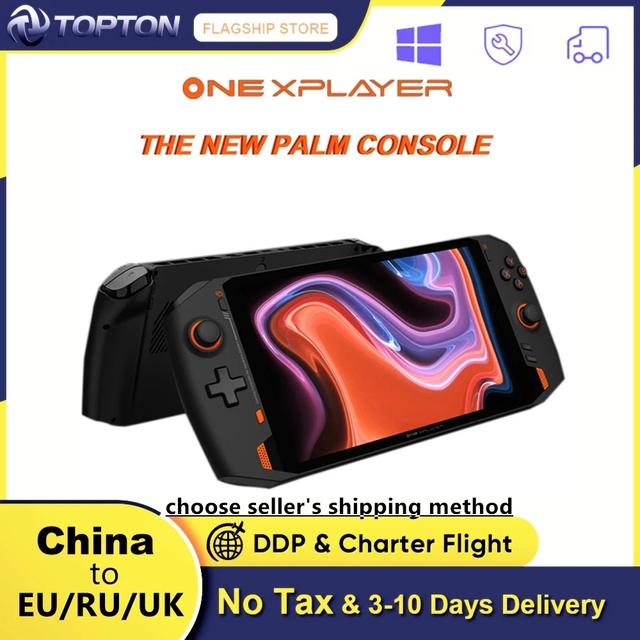 ONE XPLAYER Handheld Gaming Laptop Intel I7 1195G7 16G 512G/1T 8.4inch 2.5K Mini PC Touch Screen GamePad Console Notebook Tablet 1