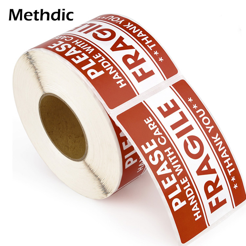 Methdic 500 Label/Roll Heavy Sticker Self Adhesive Fragile Label 2