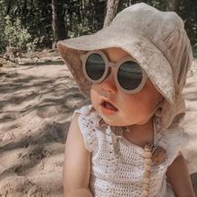 Kids Sunglasses Outdoor-Eyewear Vintage Girls Infantil Children New-Fashion Round Oculos