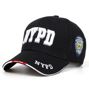 New NYPD letters embroidered baseball cap outdoor hip hop visor caps adjustable fashion golf hat men and women universal hats