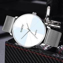 Luxury Watches Women Men Ladies Fashion Creative Two-Color Reflect Dial Fashion Alloy Strap Couple Watch Relojes De Mujer 2020(China)