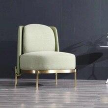 U-BEST, Современная гостиная, итальянский дизайн, кресло для отдыха, мягкая ткань, металлический каркас, Ленточное кресло