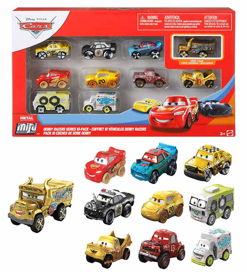 Disney Pixar Cars3 Mini Toy Car Gkg09 Alloy Mini Lightning Mcqueen