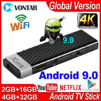 Mini Smart TV Box Android 9.0 X96S TV Stick 4GB RAM DDR3 TV Dongle Amlogic S905Y2 2.4G&5G Wifi BT4.2 60fps 4K TVBOX Media Player