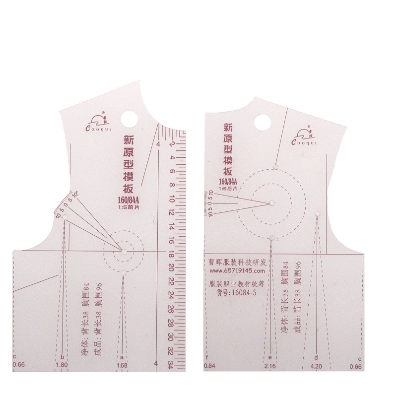 Hot New  1:5 Fashion Design Ruler Cloth Design School Student Teching Apparel Drawing Templete Garment Prototype Rulers