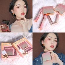 XIXI Starry Sky Makeup Set Lipstick 9 Colors Eyeshadow Plates Mascara Matte Shimmer Palette Long Lasting Waterproof Beauty Tool