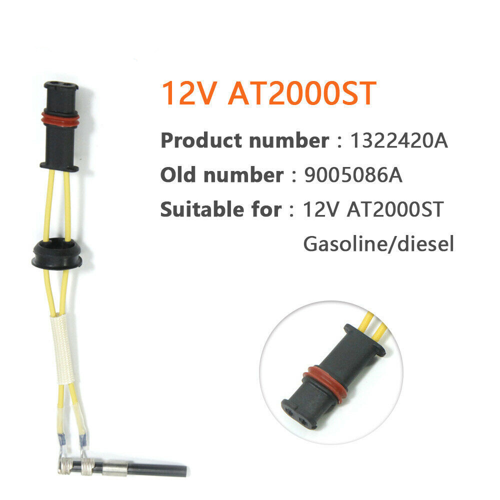 12V 63-72W Auto Car Truck Boat Parking Heater Ceramic Pin Glow Plug For Webasto Air Top 2000ST Diesel Parking Heater Parts