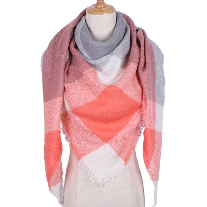 Winter Warm Women Scarf Warm Shawl Foulard Femme Pashmina Kerchief Wool Stole Head Neck Long Winter Scarf Women For Ladies 2019