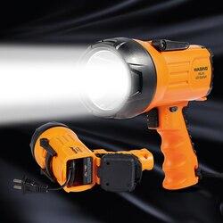 Projecteur Rechargeable LED 10 watts, 815 Lumens, Portable, à poignée pour l'extérieur, lampe torche, lampe de travail d'urgence, 1000