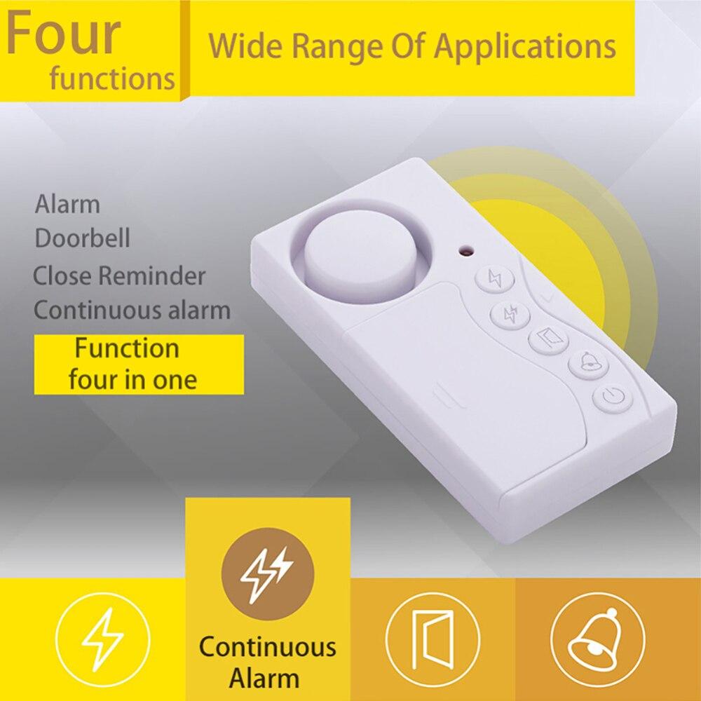 4 in 1 Wireless Home Fenster Tür Einbrecher Sensor Alarm System für Home Security System