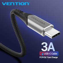 Vention USB Type C Cable 3A Charger Cable Fast Charging for Samsung S10 S9/Xiaomi mi9 10 pro/Huawei USB C Mobile Phone Cables 3m