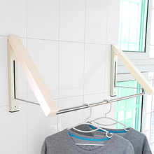 Retractable Clothes Hanger Rack Folding Dryer Home Room Decoration Accessories For Kitchen Bathroom Hangers for