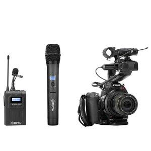 Image 5 - BOYA BY WHM8 Pro Handheld Mikrofon UHF Wireless Unidirektionale Dynamische Mic Sender für Bühne Film ENG BY WM8 Pro Empfänger