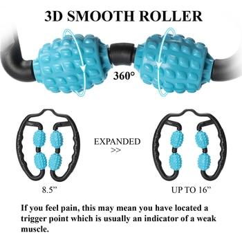 U Shape Trigger Point Massage Roller 3