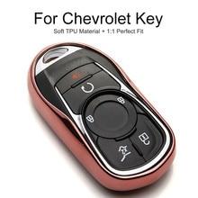 6 цветов ТПУ автомобильный чехол для ключей для Chevrolet Trax Aveo T300 Cruze 2011 Aveo Captiva Volvo Camaro брелок для ключей Оболочка Стиль