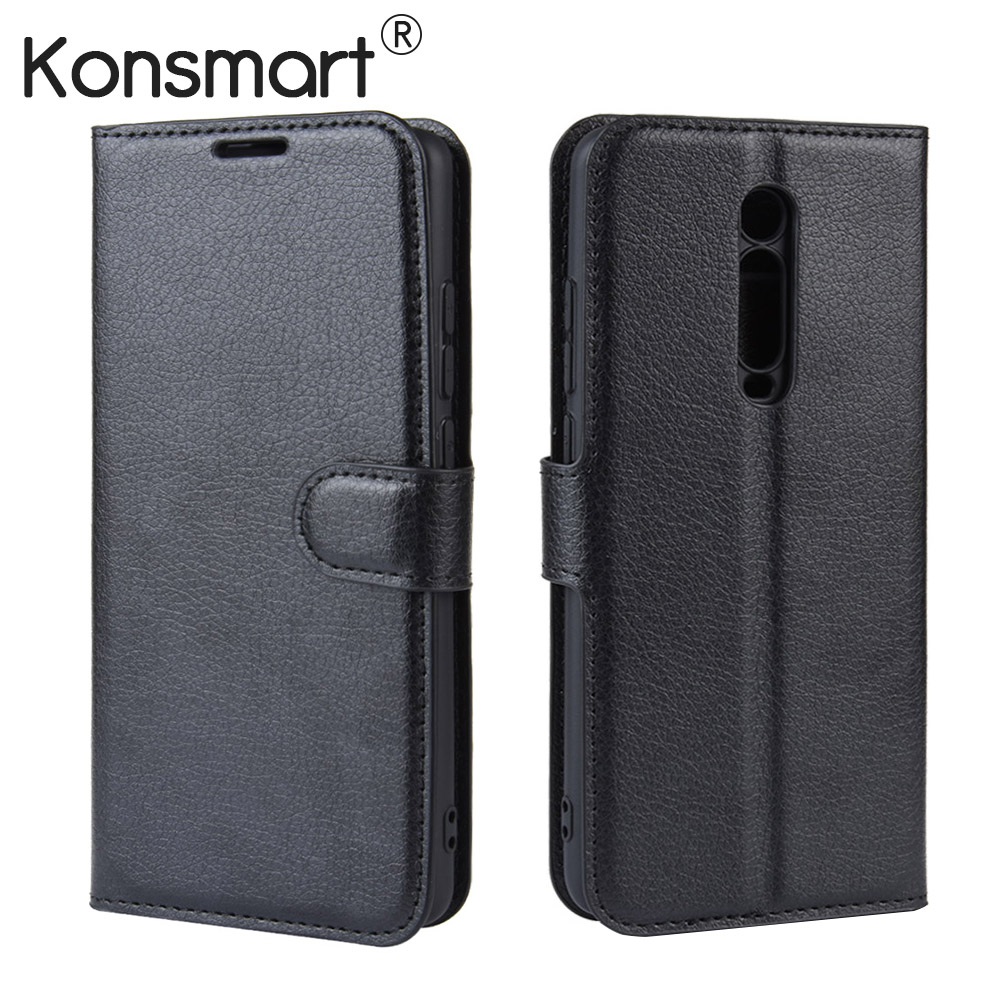 KONSMART 2019 Book Case Redmi K20 Pro Global Version Flip Leather Phone Cover For Xiaomi Mi 9T Pro 6/64 128GB 6.39 image