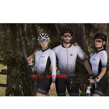 Masculino e feminino triathlon roupas femininas ciclismo jérsei skinsuit macacão maillot ropa ciclismo casais conjunto 1