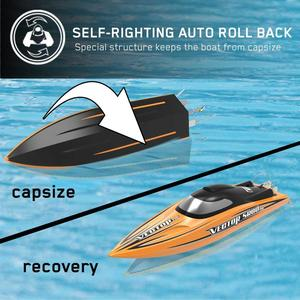 Image 2 - Vector SR80 Pro 44mph Super High RC Remote Control Speed Boat Auto Roll Back Function Metal Hardwares 798 4P PNP or ARTR