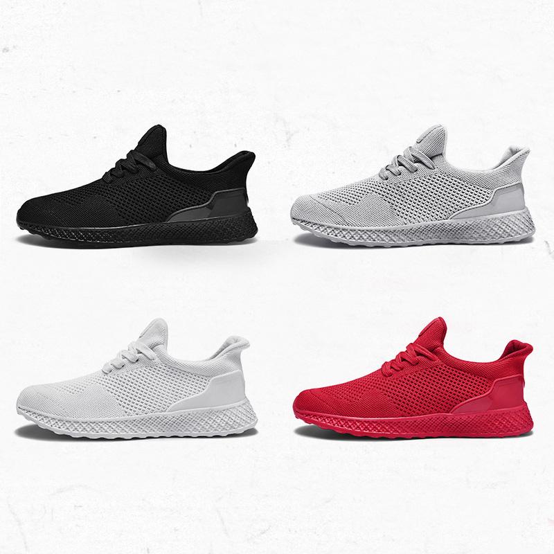 2019 New Arrival Running Shoes Man Breathable Comfortable Lovers Shoes Jogging Gym Training Outdoor Men Sports Shoes Big Size 48
