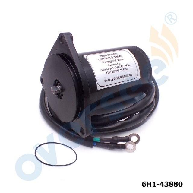 6H1 43880 PowerTilt Trim Motor Für YAMAHA Außenbordmotor 50HP 55HP 60HP 70HP 85HP 90HP 6H1 43880 02 430 22028