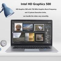ultrabook עם 15.6 אינץ נייד עם מחשב נייד 8G RAM 512G 256G 128g SSD ומשחקי מחשבי Ultrabook אינטל j3455 Quad Core Win10 (4)