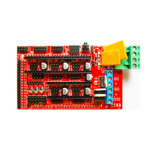 Image 5 - Ramps 1.4 Kit Mega 2560 R3 Development Board + Verwarmd Bed MK2B + Ramps 1.4 Controller Control Panel + Lcd 2004for Cnc 3D Printer Kit