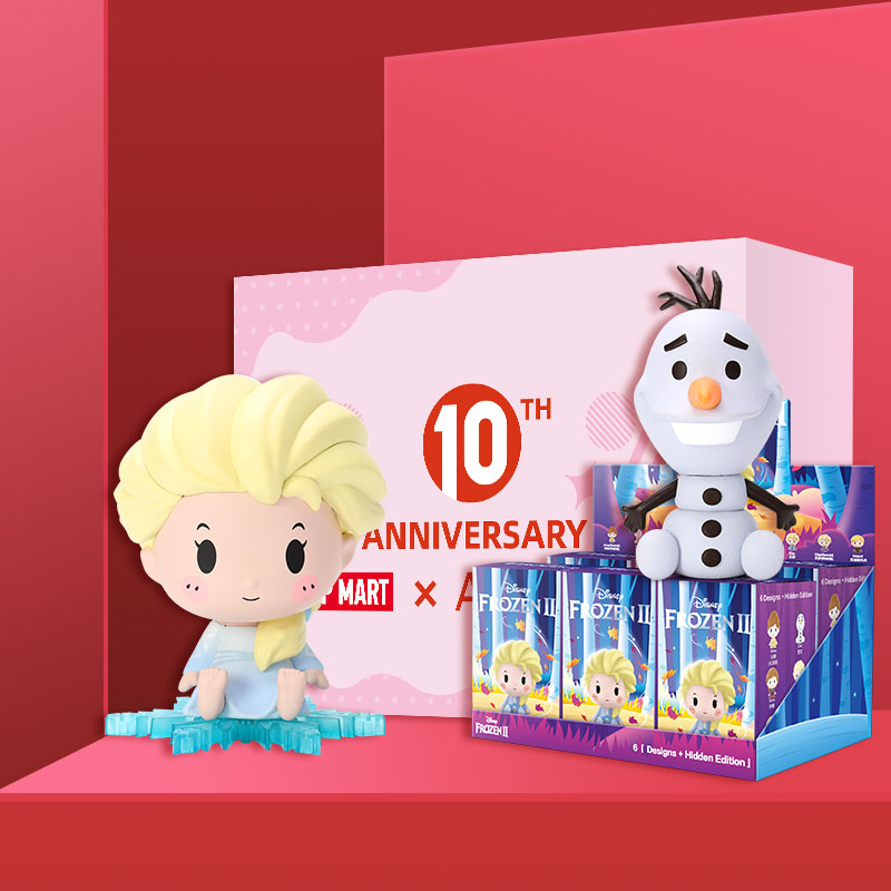 POPMART Frozen 2 Disney Sitting Baby Series 5 Collection Doll Collectible Cute Action Kawaii Figure Gift Kid Toy Free Shipping