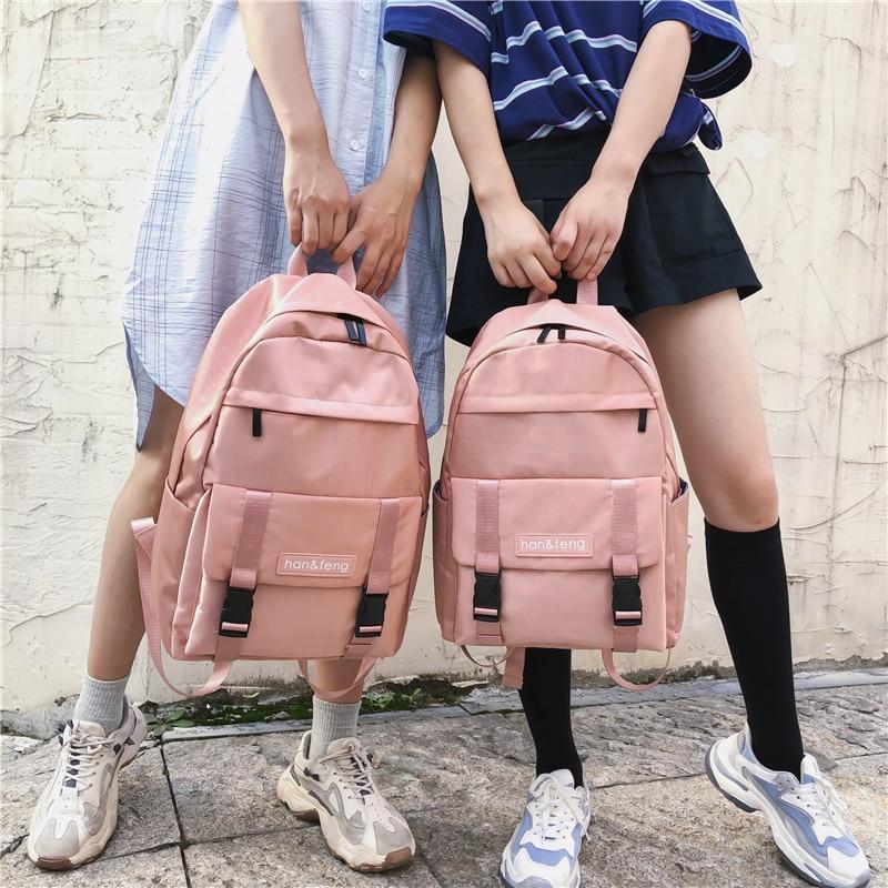 Fashion Travel Backpack Schoolbag Women Mochila Feminina School Bags For Teenage Girls Backpacks Sack Rucksack Bagpack Bookbag