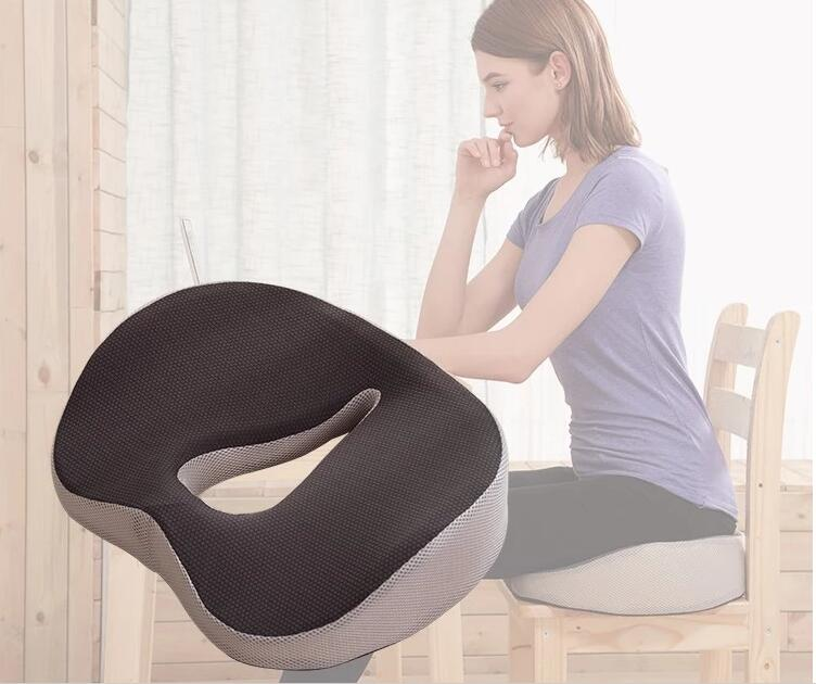 Donut Seat Cushion Ring Pillow Orthopedic Car Office Couch Chair Bottom Massage Pad Health Care Soft Sitting Pillow Cushion