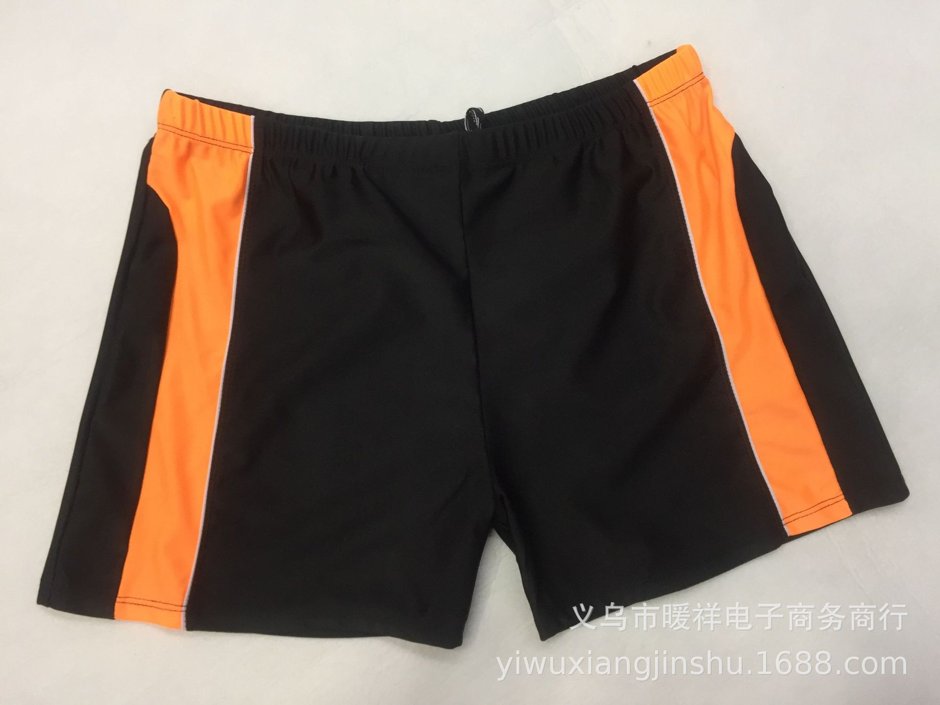 MEN'S Swimming Trunks Boxer Hot Springs Anti-Awkward Quick-Dry Large Size Plus-sized Sports Ultra-stretch Loose-Fit Swimming Sui