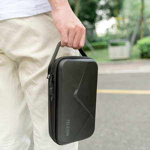 Image 5 - TELESIN DIY saklama çantası su geçirmez kafes taşıma çantası GoPro Hero için 8 7 6 5 siyah Xiaomi Yi Osmo eylem aksesuarları taşınabilir