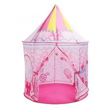 Игрушка палатка маленькая девочка принцесса розовая палатки в форме замка портативная детская Крытая складная палатка для игр для детей замок для игр игровой домик
